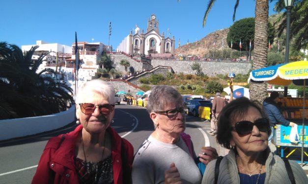 El alumnado salió de visita a Santa Lucía