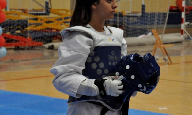 Zoe García García. Deportista de Taekwondo