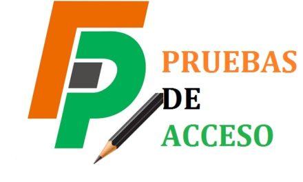 Abierta la inscripción para las pruebas de Acceso a Ciclos Formativos de Grado Medio y Superior: 13 de marzo al 2 de abril