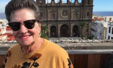 María del Pino Caballero Monzón, alumna del Aula del Centro de Mayores de La Isleta