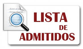 Consulta de listas de admitidos y reservas en Ciclos Formativos y Bachillerato