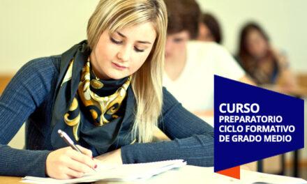 Listado provisional de admitidos al Curso preparatorio de acceso a Ciclos Formativos de Grado Medio