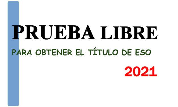 PRUEBA LIBRE GESO 2021